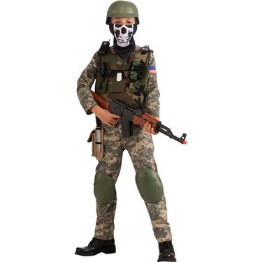 Camo Trooper Child Costume