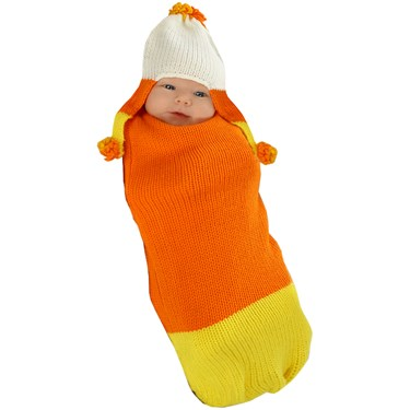 Candy Corn Baby Bunting
