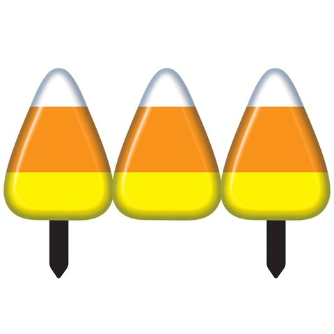Candy Corn Fence (2 sections)