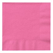 Candy Pink (Hot Pink) Beverage Napkins (50 count)