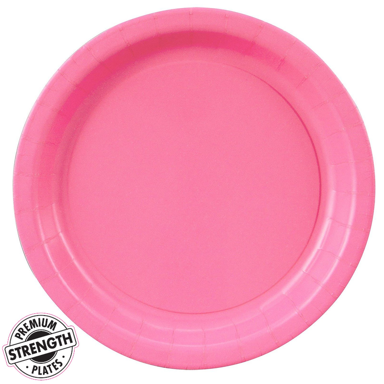 candy pink hot pink dinner plates 24 count. Black Bedroom Furniture Sets. Home Design Ideas