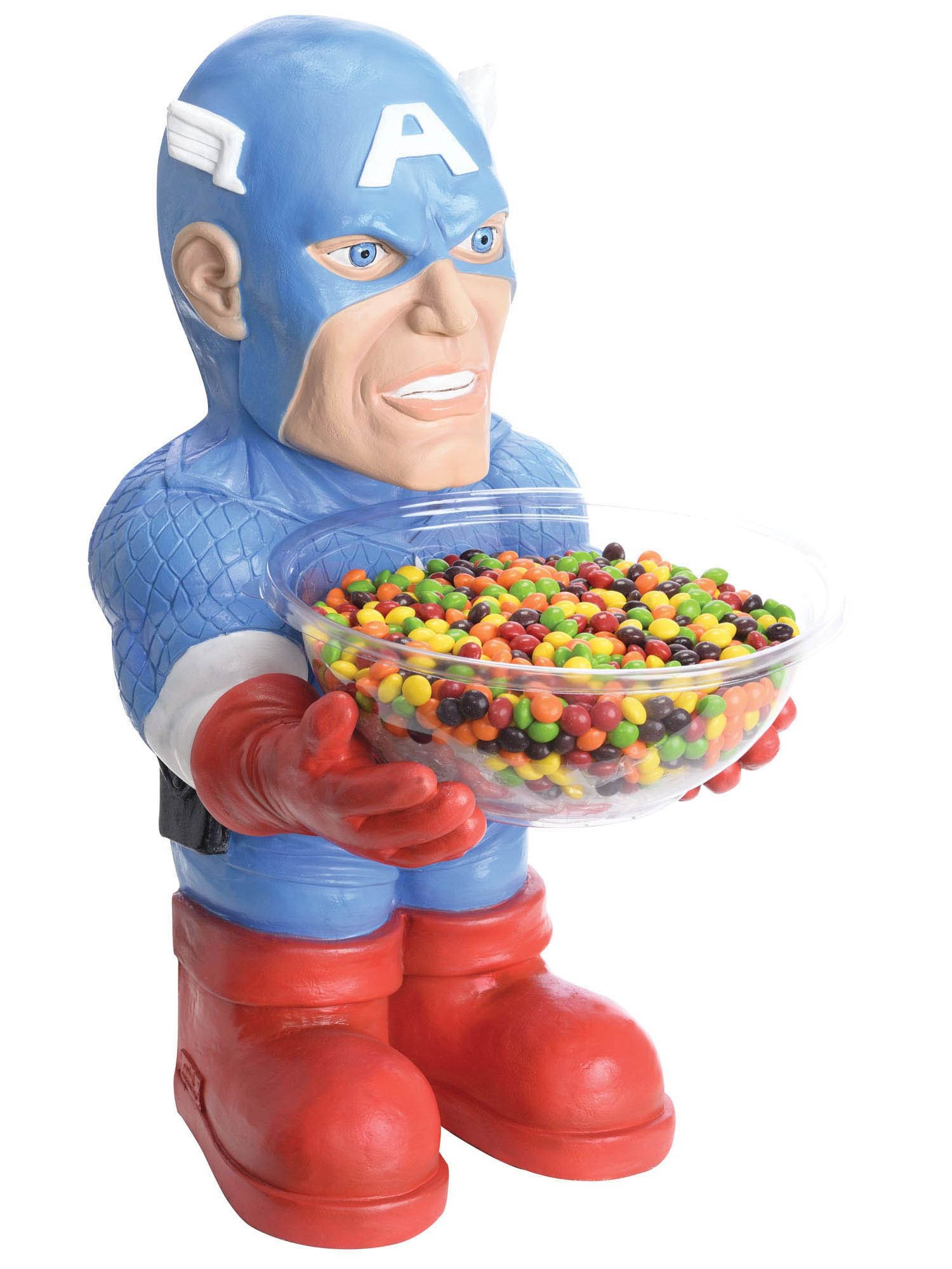 Captain America Candy Bowl and Holder