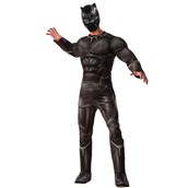Captain America Civil War - Black Panther Deluxe Adult Muscle Costume
