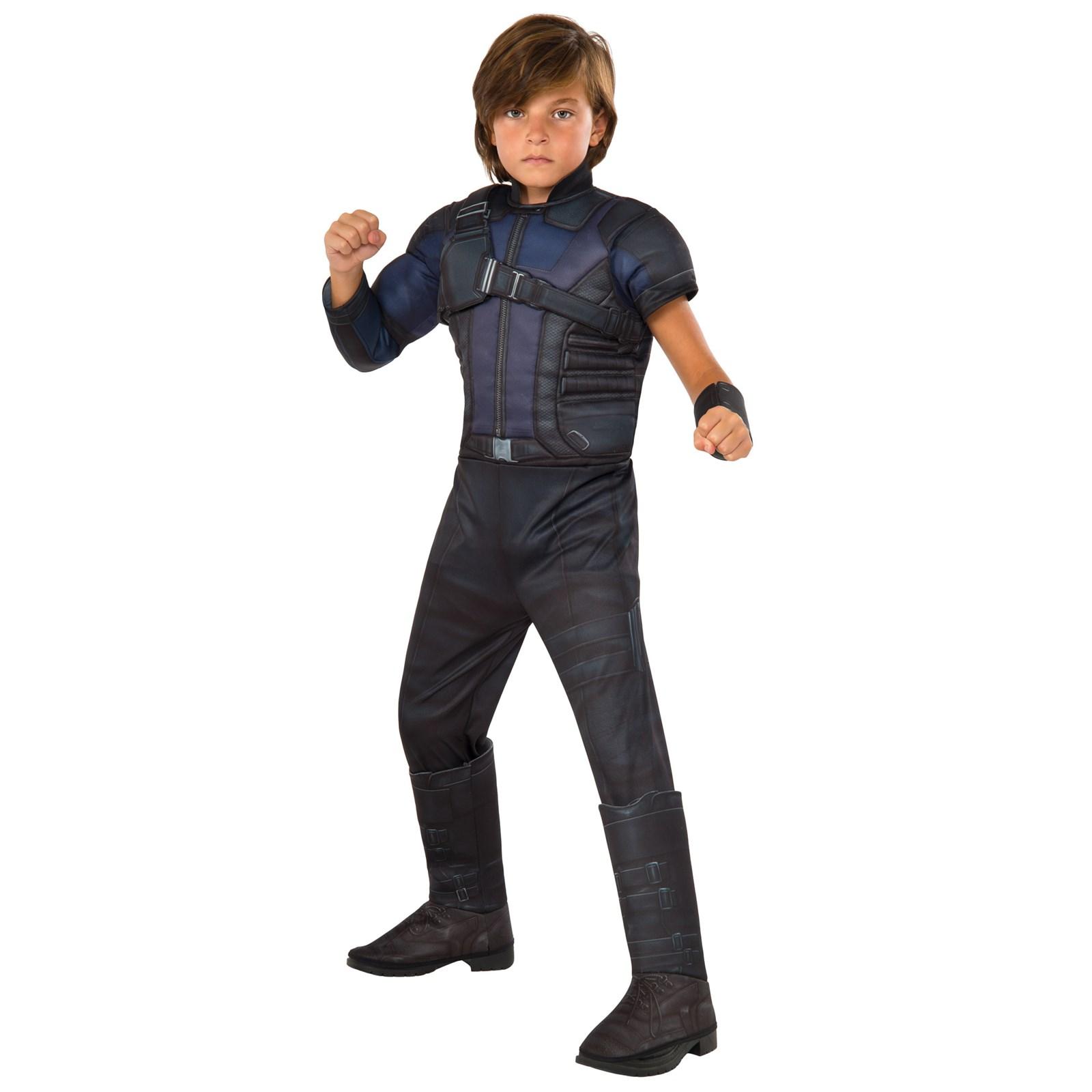 Captain America Civil War: Kids Hawkeye Costume ...