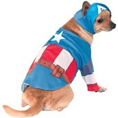 Captain America Costume For Pets