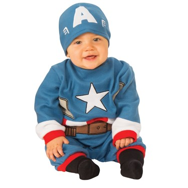 Captain America Infant Romper