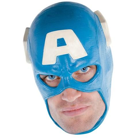 Captain America Vinyl Deluxe Adult Mask