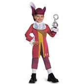 Captain Jake and the Never Land Pirates: Deluxe Captain Hook Costume For Toddlers