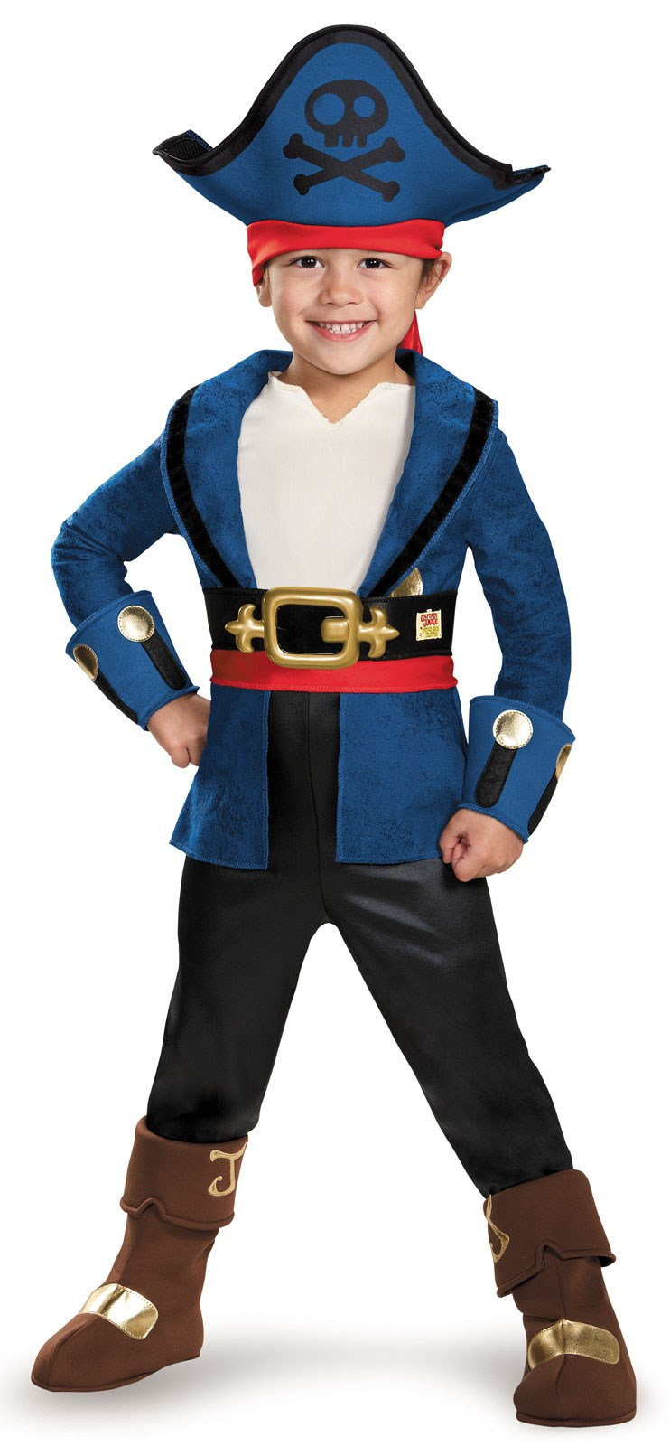 Captain Jake and the Never Land Pirates: Deluxe Captain Jake Costume For Toddlers