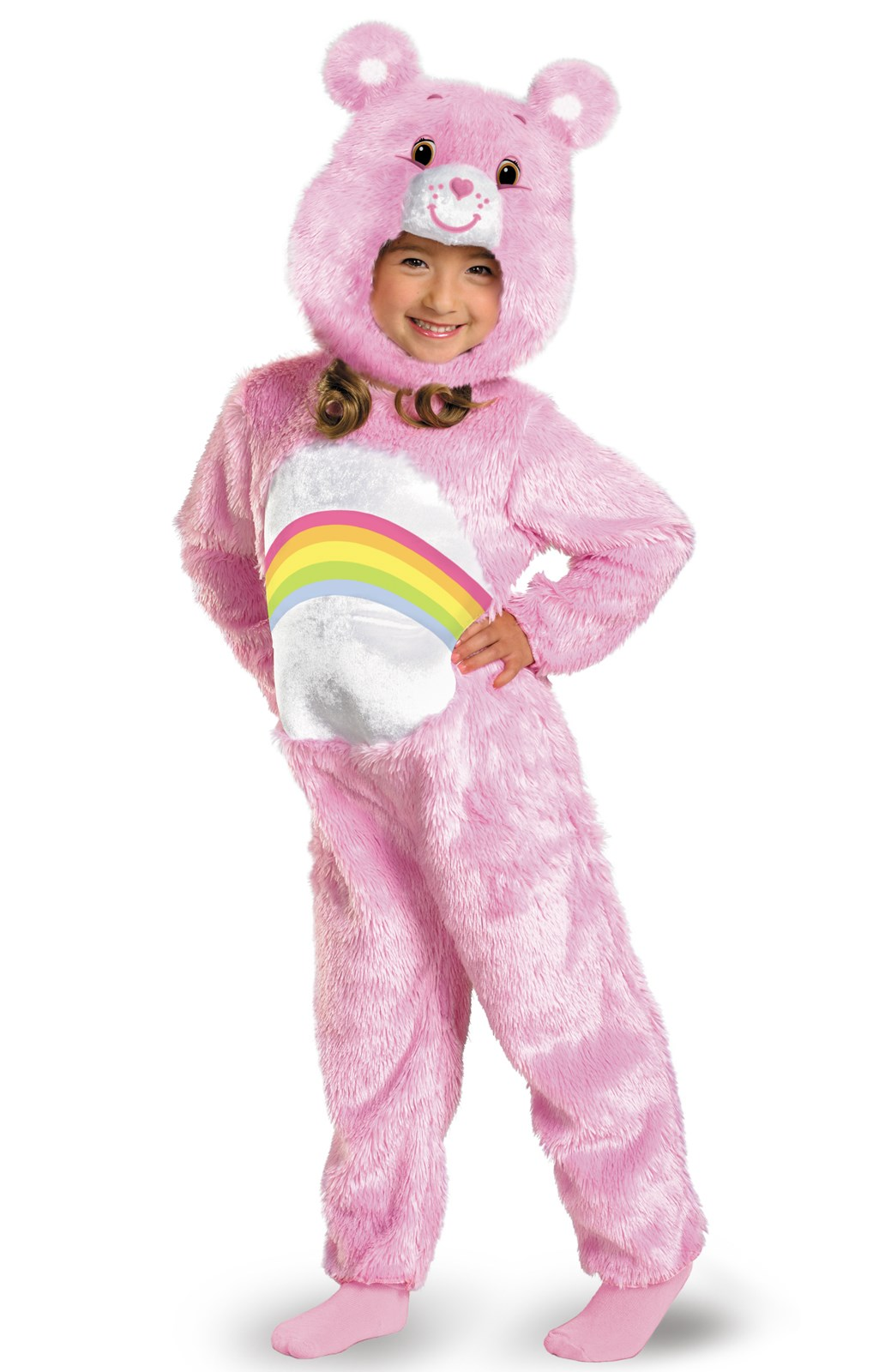 Care Bears Cheer Bear Deluxe Plush Infant / Toddler Costume ...