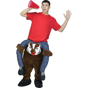 Ride a Badger Adult Costume