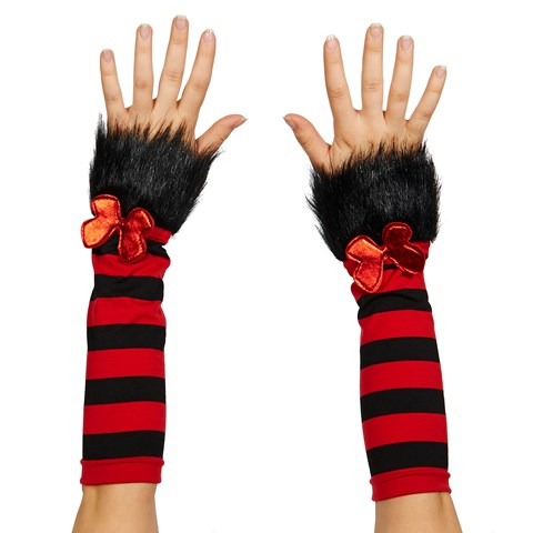 Cat In The Hat Fuzzy Glovettes