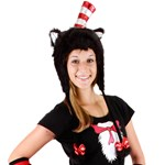 Cat In The Hat Hoodie Hat