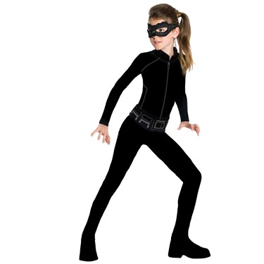 Catwoman Action Suit Child Set