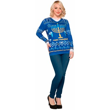 Chanukah Adult Sweater