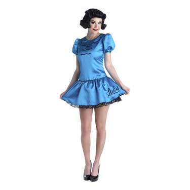 Charlie Brown Deluxe Lucy Adult Costume