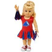 "Cheer Team 18"" Doll Costume"