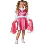 Cheerleader Pink & White Child Costume