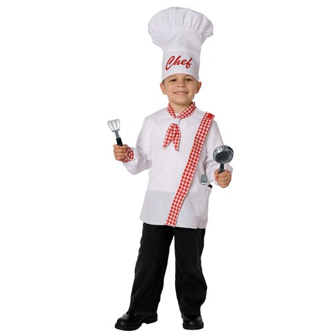 Chef Child Costume Kit