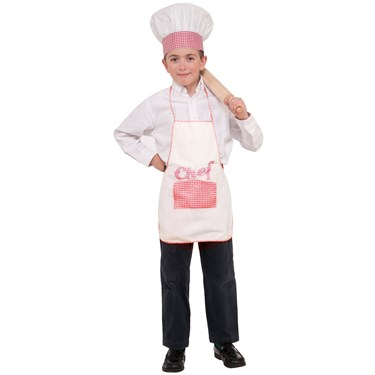 Chef Hat and Apron Child Set