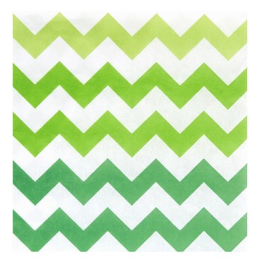 Chevron Green Lunch Napkins (20 count)