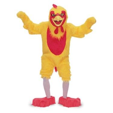 Chicken Adult Mascot Costume