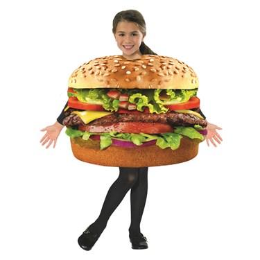 Children's Hamburger Costume