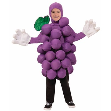 Childrens Purple Grapes Costume