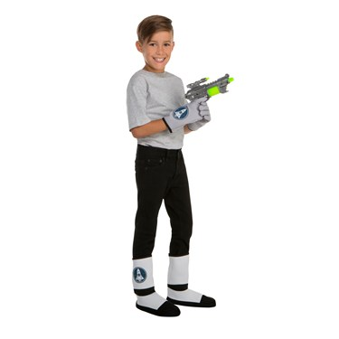 Children's Space Gloves, Boot Covers and Gun Set
