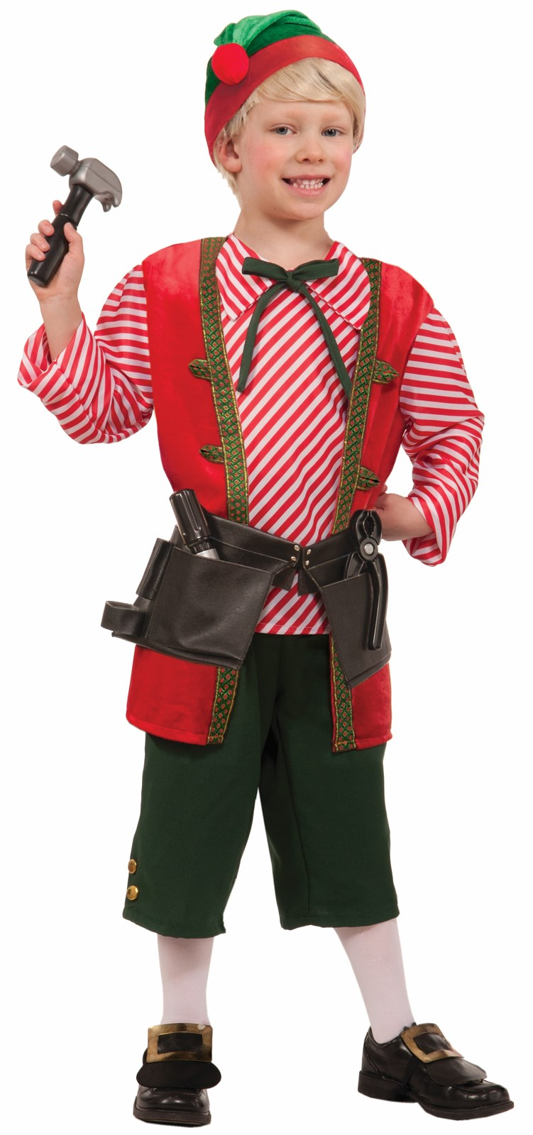 Childrens Toy Maker Elf Costume | BuyCostumes.com