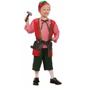 Childrens Toy Maker Elf Costume