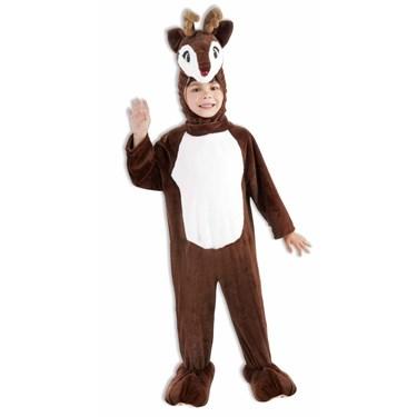 Childs Plush Reindeer Mascot