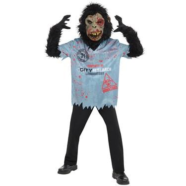 Chimpan-Zombie Child Costume