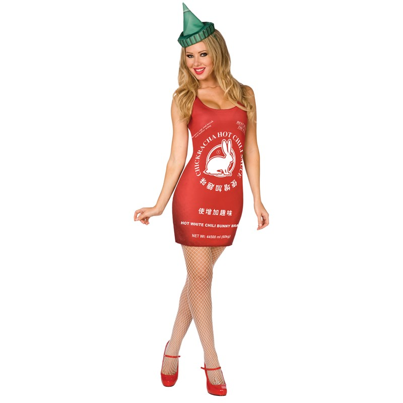 Chinese Hot Sauce Adult Costume | BuyCostumes.com