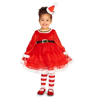 Christmas Diva Child Costume