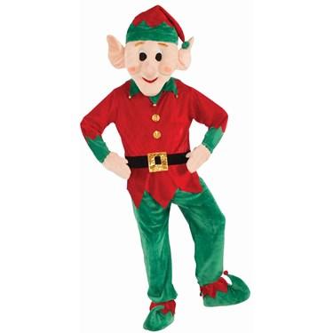 Christmas Elf Mascot