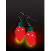 Christmas Light Bulb Earrings