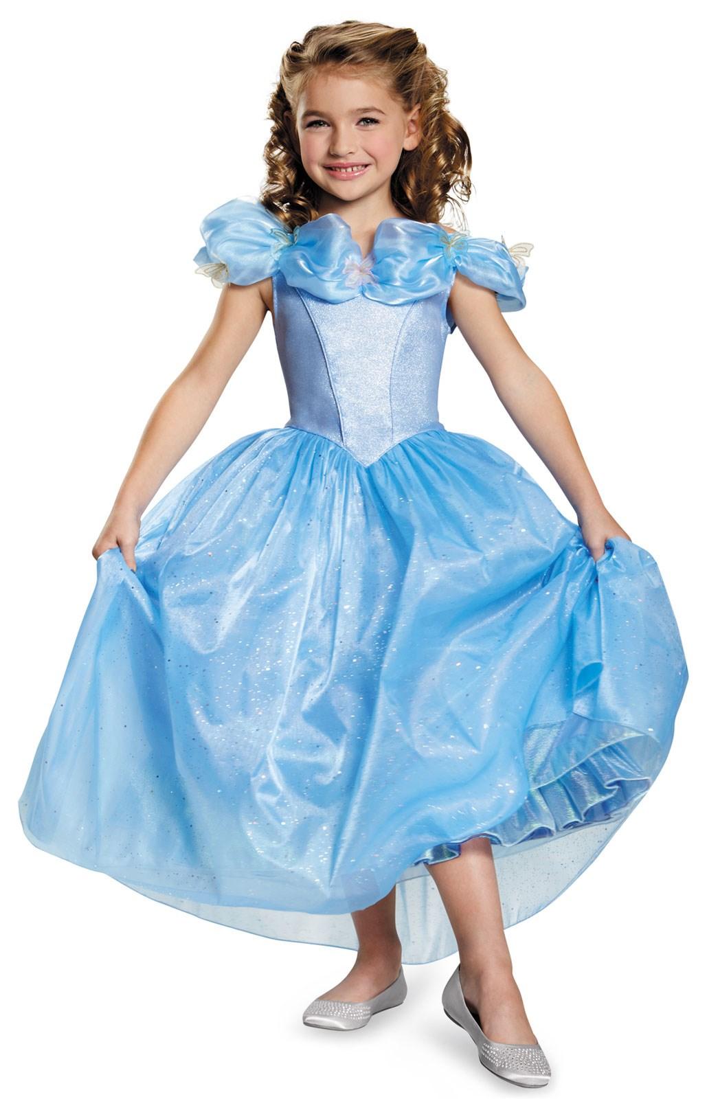 Disney Cinderella Movie: Prestige Cinderella Costume For Toddlers
