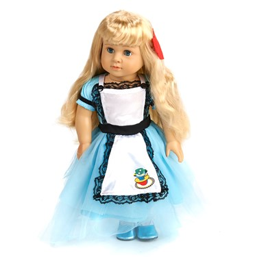 "Classic Alice 18"" Doll Costume"