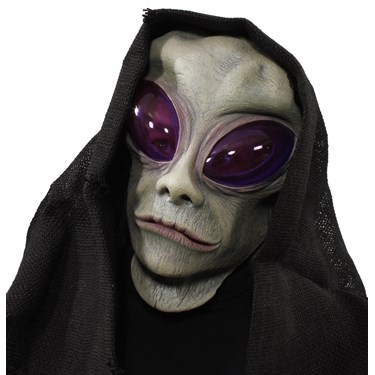 Classic Alien Overhead Mask w/ Hood