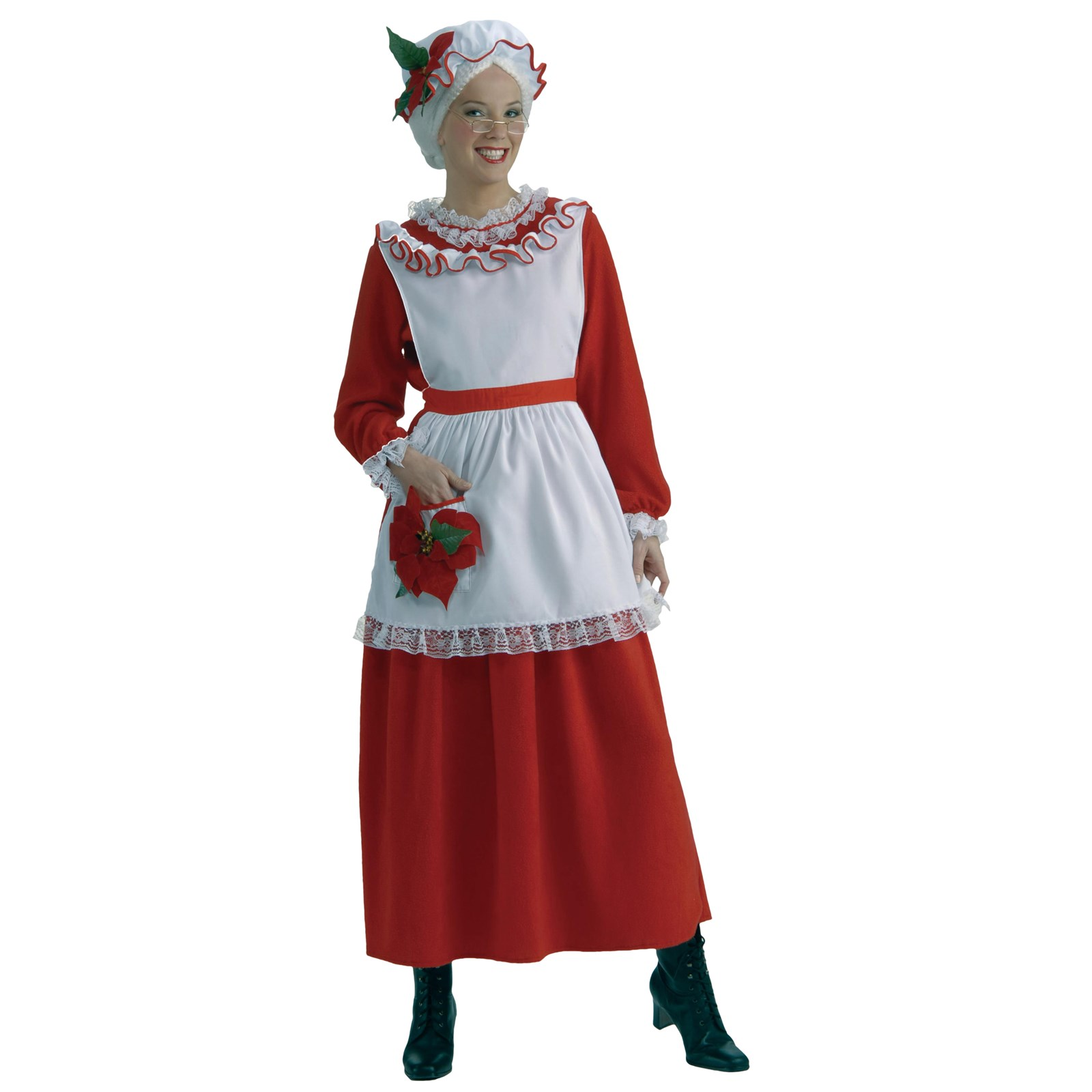 Classic mrs claus adult costume for Mama s fish house dress code