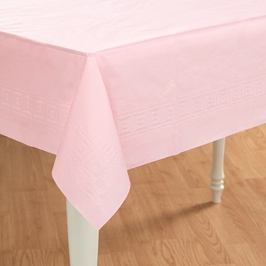 Classic Pink (Light Pink) Paper Tablecover
