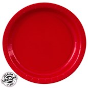 Classic Red (Red) Paper Dessert Plates (24 count)