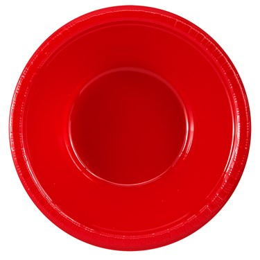 Classic Red (Red) Plastic Bowls (20 count)