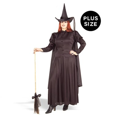 Classic Witch Adult Plus Costume
