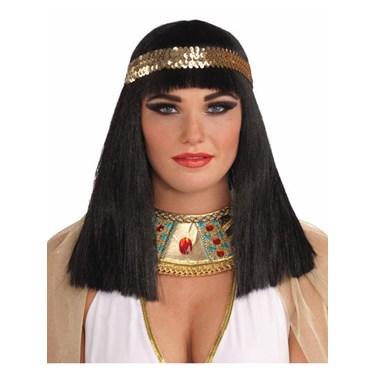 Cleopatra Adult Wig with Headband