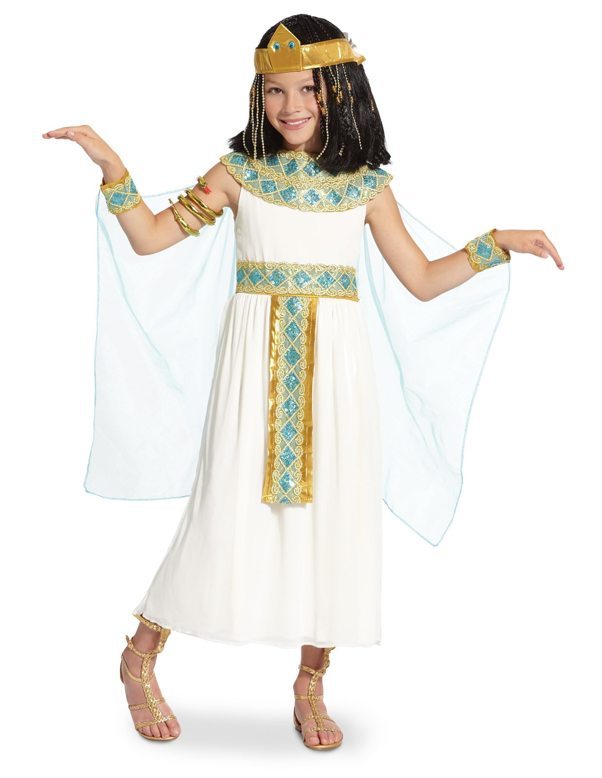 cleopatra child costume - Egyptian Halloween Costumes For Kids