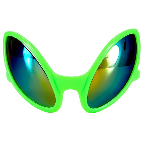 Close Encounter Green Alien Glasses