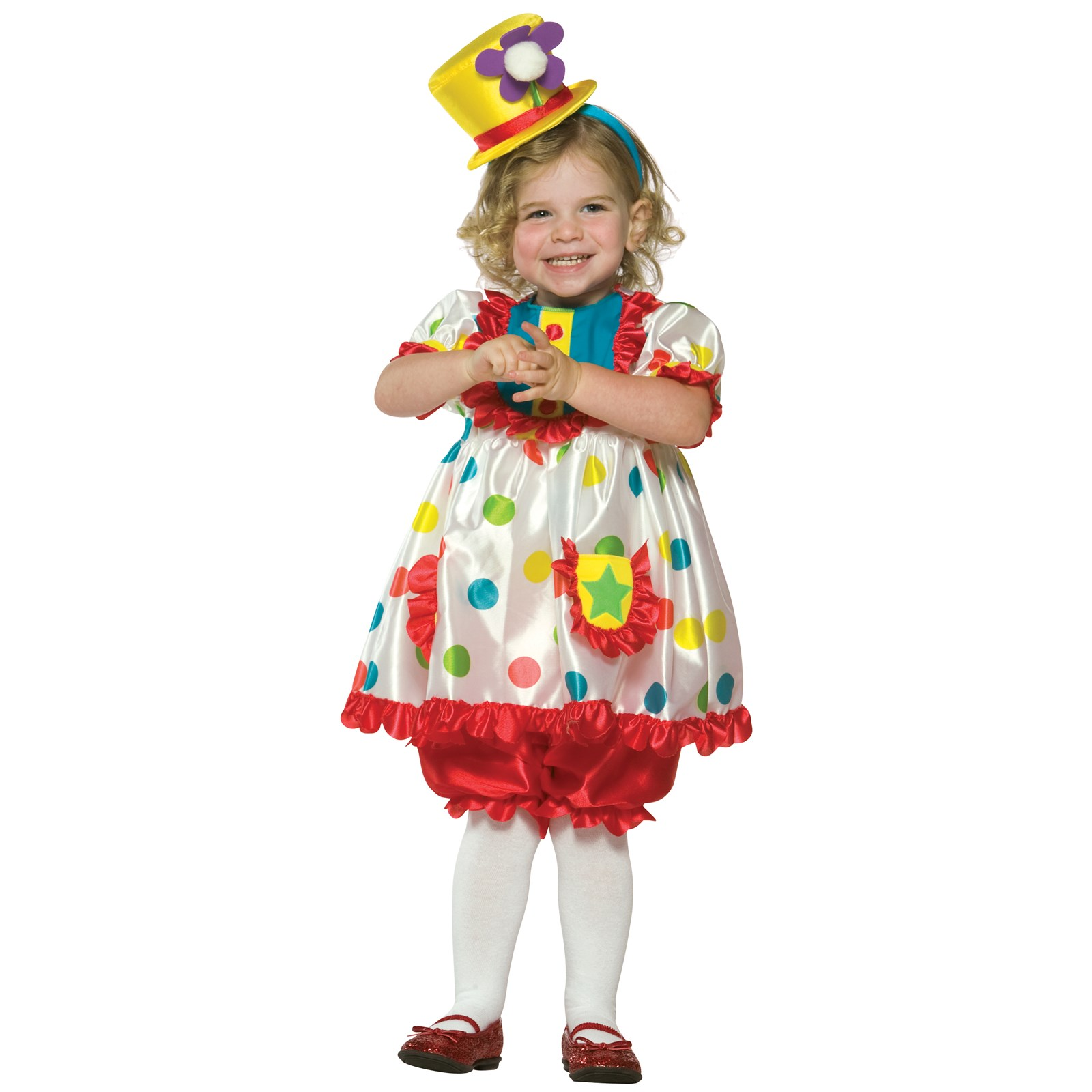 Clown Girl Toddler Costume | BuyCostumes.com