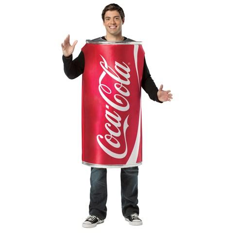 Coca-Cola - Coke Can Adult Costume